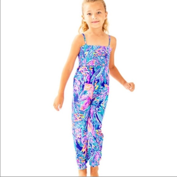 e273db58ee71 NWT Lily Pulitzer Jenna Jumpsuit in  Seas the Day